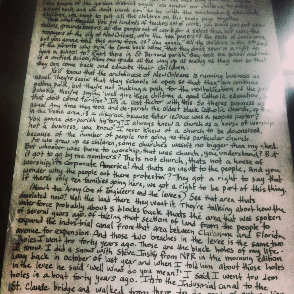 Nine Lives Transcript