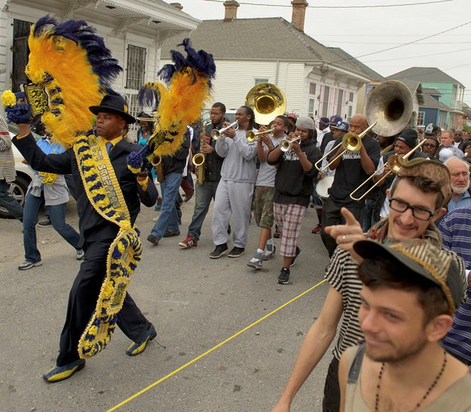 Ninth Ward Steppers