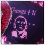 Obama 'Change 4 U' Patch