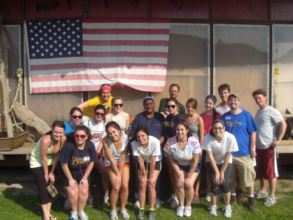 Tulane Students visit 2011 3