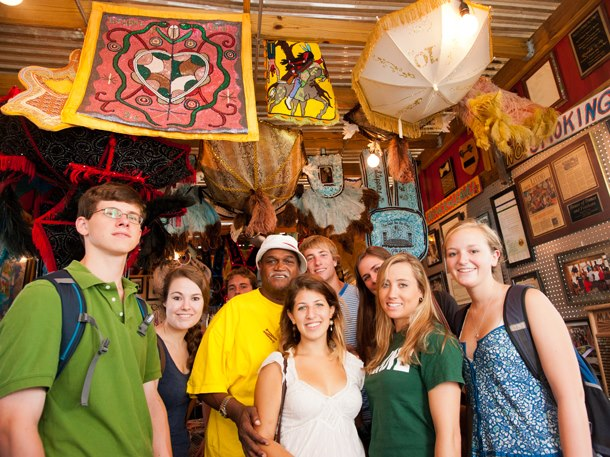 Tulane Students visit 2011